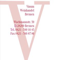 Logo Vinum Weinhandel Bremen